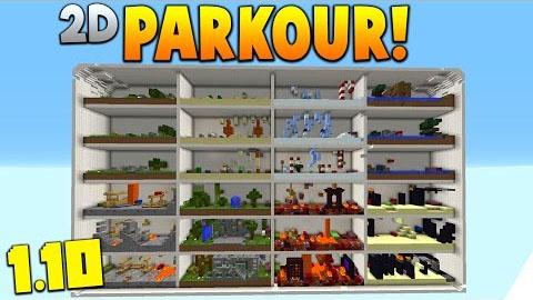 2D Parkour Map