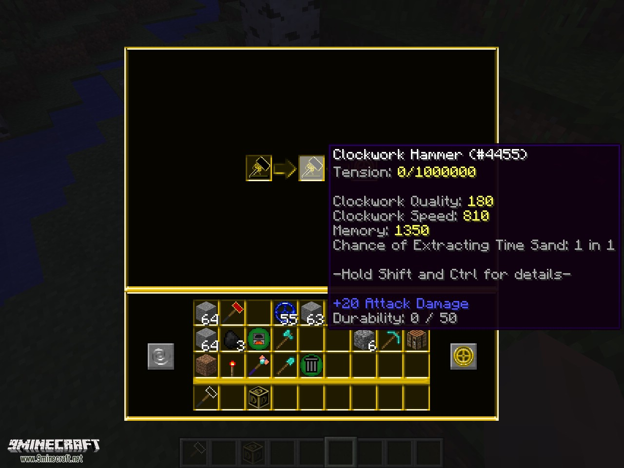 Simply Hammers Mod