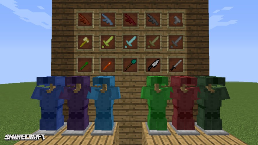 Special Weapons and Armor Mod
